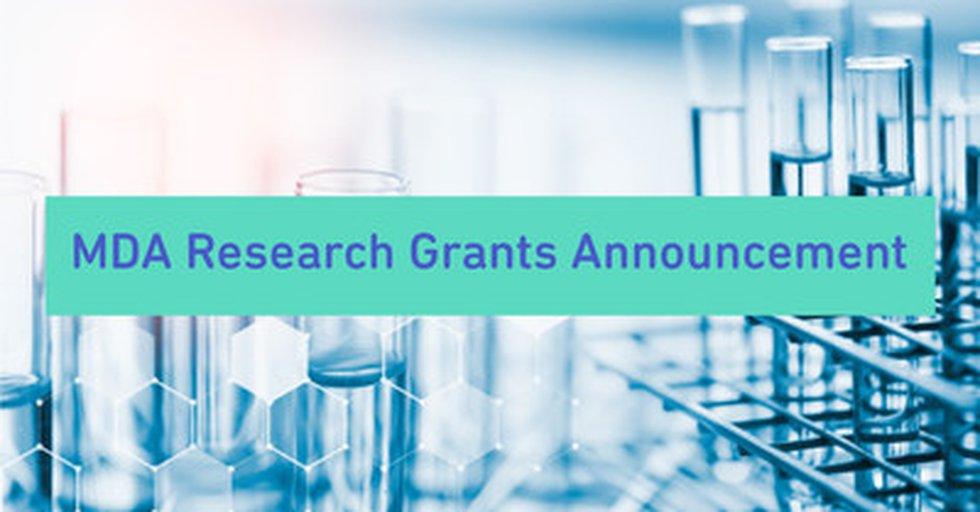 Muscular Dystrophy Association Awards 18 Grants Totaling Over $1.6 Million for Development...
