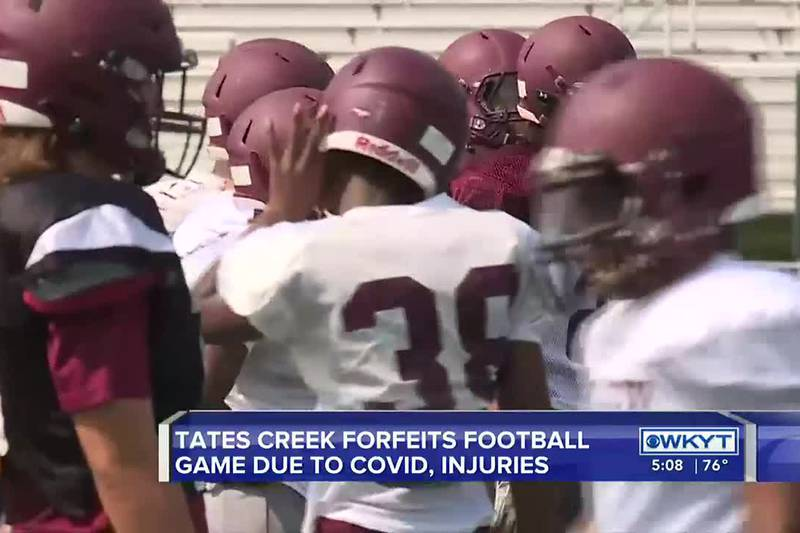 Ky. high school football team forfeits game; majority of players not well enough to play