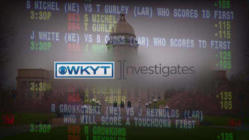 WKYT Investigates   Sports betting in Kentucky