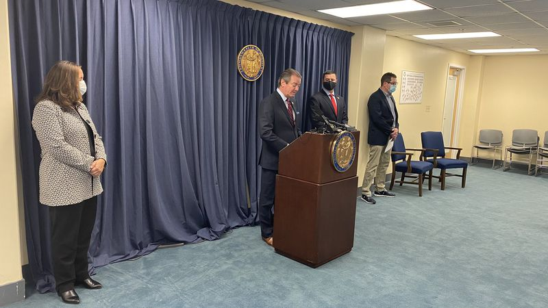 Kentucky House Speaker David Osborne started off the news conference saying thousands of more...