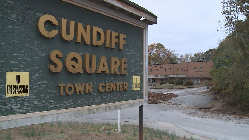 The tentative plan is to build the university at Cundiff Square, near downtown.