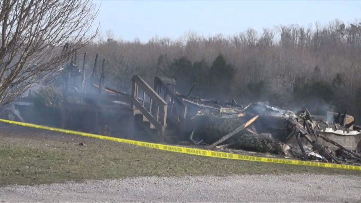 Fatal fire in Edmonson County.