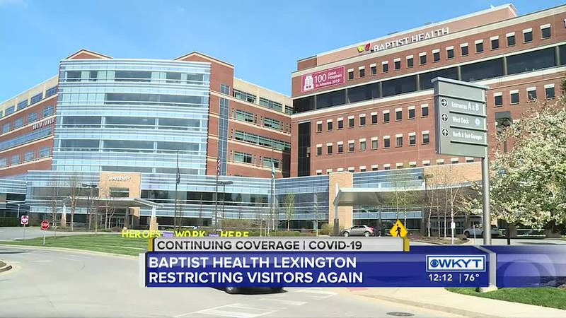 Baptist Health Lexington updates visitor restrictions due to rise of COVID-19 cases
