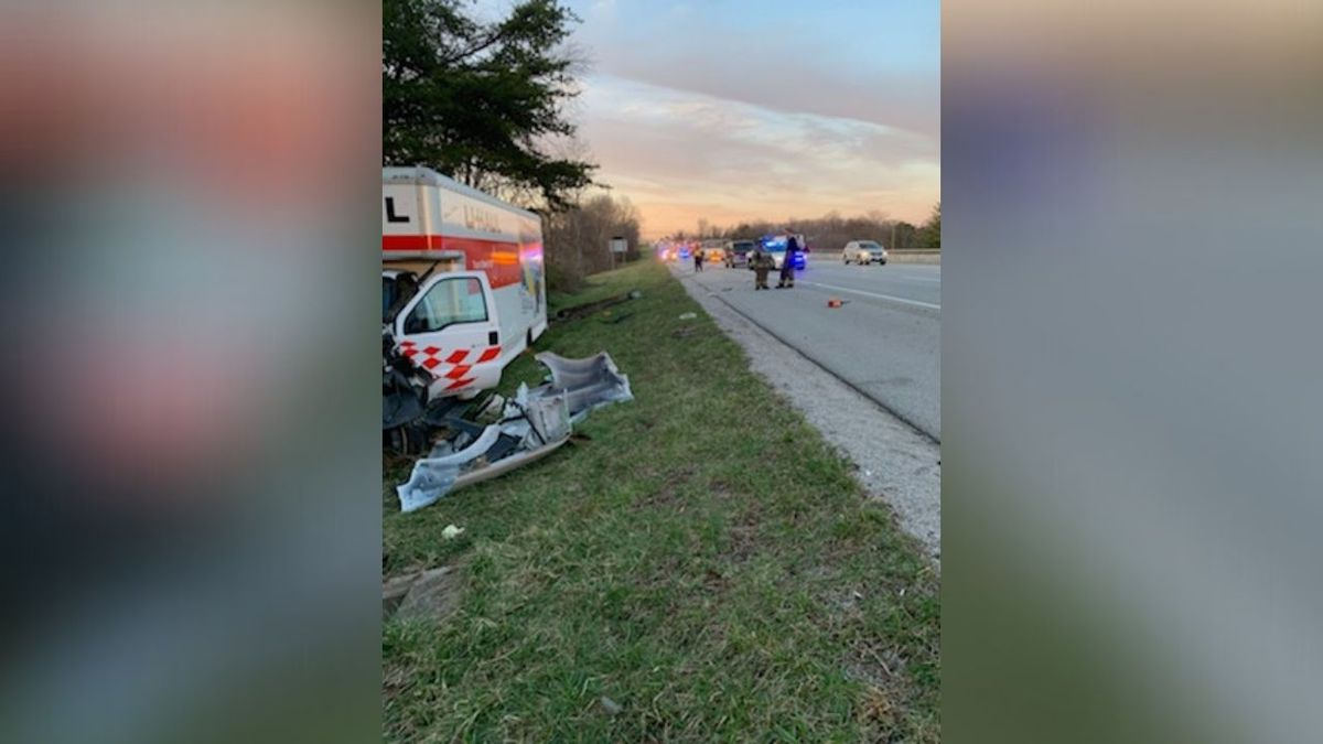One person is dead after a three car crash on Friday.