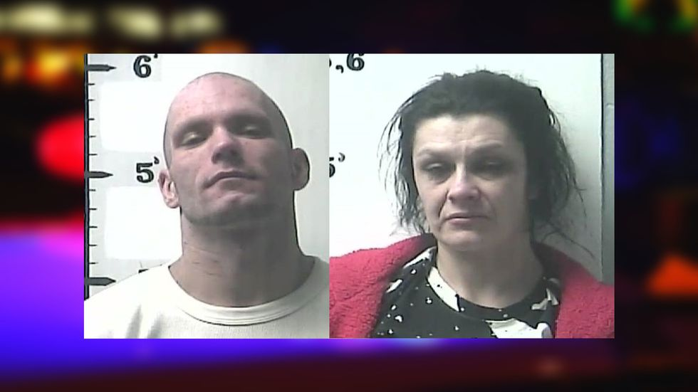 33-year-old William Burgin, of Wilmore, and 34-year-old Latasha Woods, of Nicholasville.