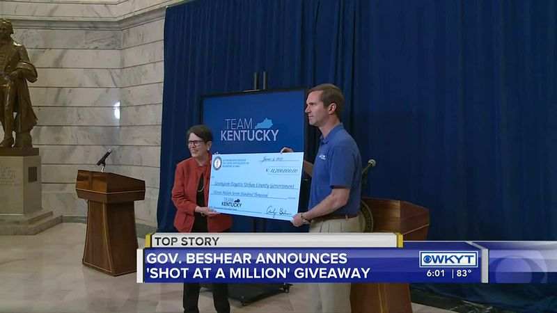 Three vaccinated Kentuckians will become millionaires