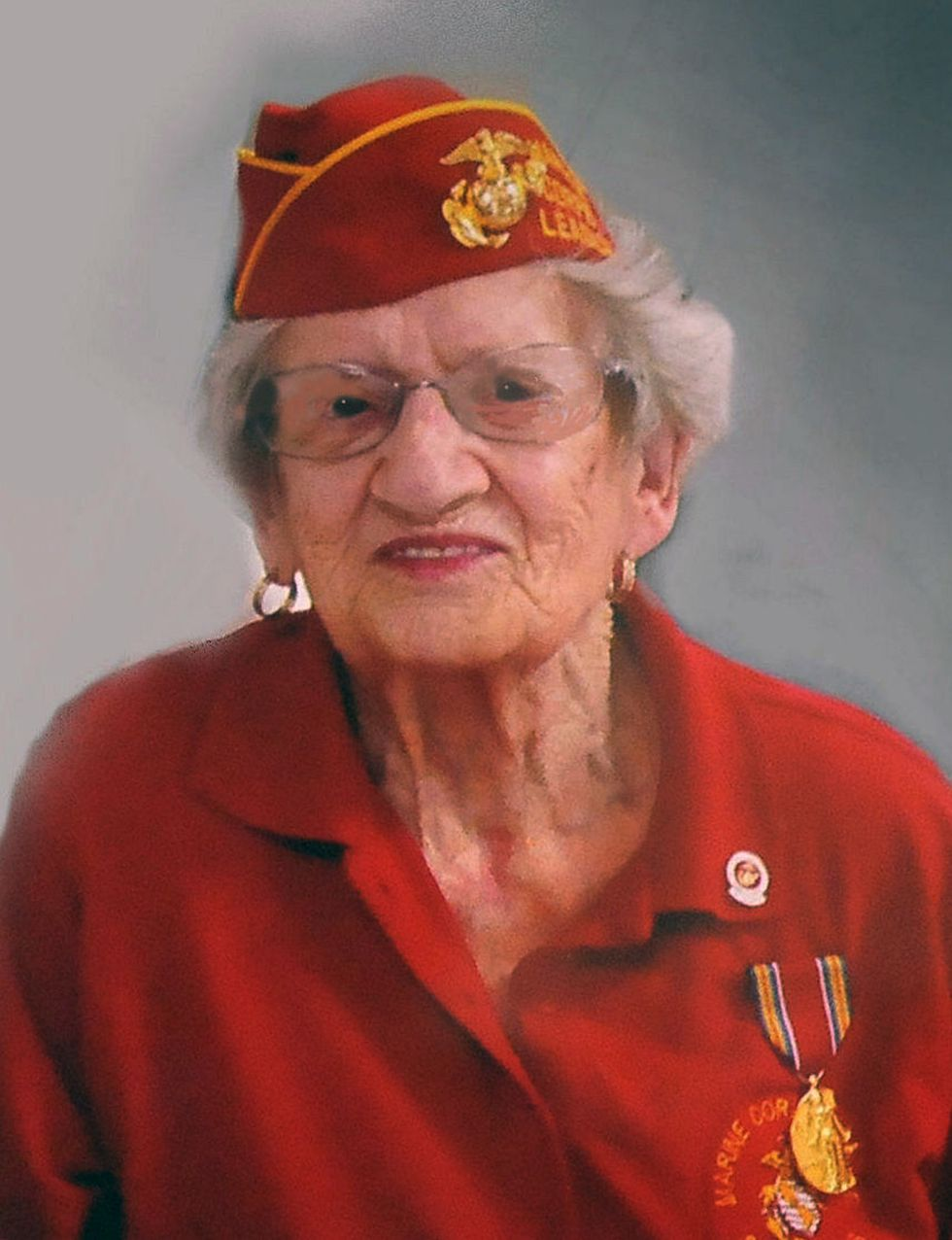 This photo provided by Beth Kluttz shows Dorothy Schmidt Cole. Dorothy Schmidt Cole, recognized...