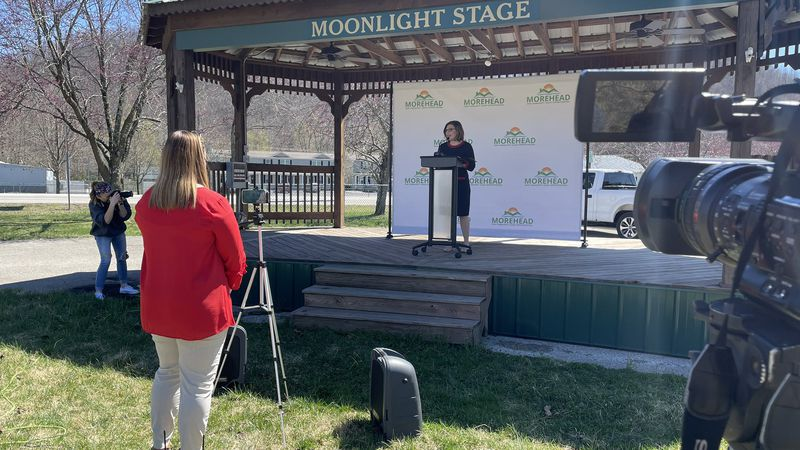 Morehead Mayor Laura White-Brown made a special announcement Monday afternoon, detailing the...