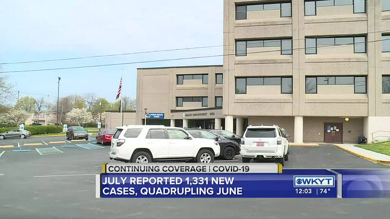 Lexington sees quadruple the number of COVID-19 cases in July compared to June