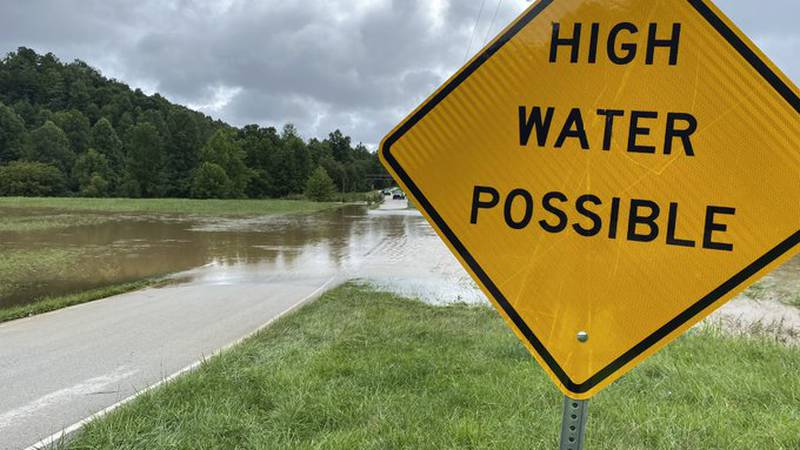 High water in Wolfe County is causing issues.