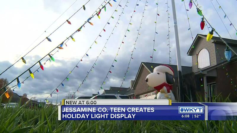 A Christmas light show with a mission. One Jessamine County teen is using his knowledge of...