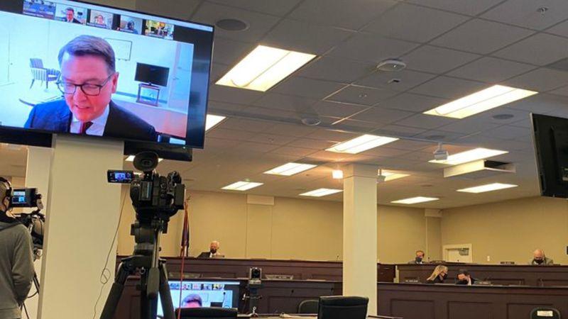 Earlier Tuesday, Transportation Secretary Jim Gray, the state's program coordinator testified...