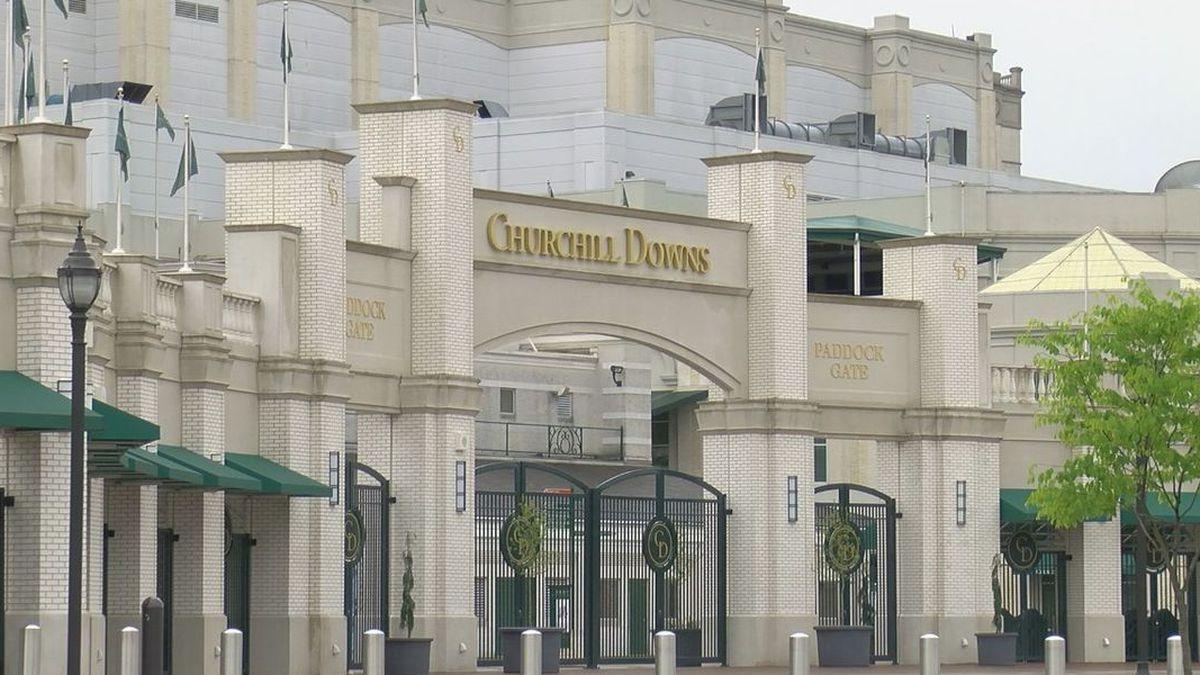 Churchill Downs Paddock Gate - generic