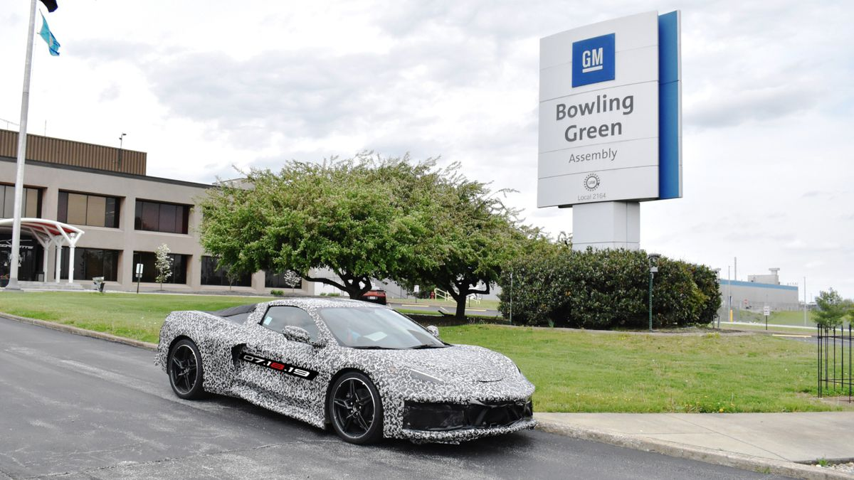 General Motors announced on Thursday, April 25 it is adding a second shift and more than 400 hourly jobs at its Bowling Green (Kentucky) Assembly plant to support production of the Next Generation Corvette, which will be revealed on July 18, 2019. (Photo: GM)
