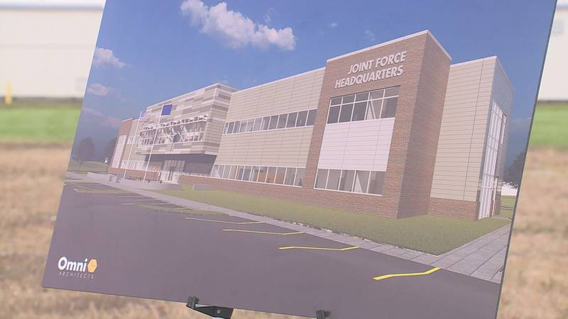 A new addition is coming to Kentucky's National Guard headquarters in Frankfort.  Tuesday...