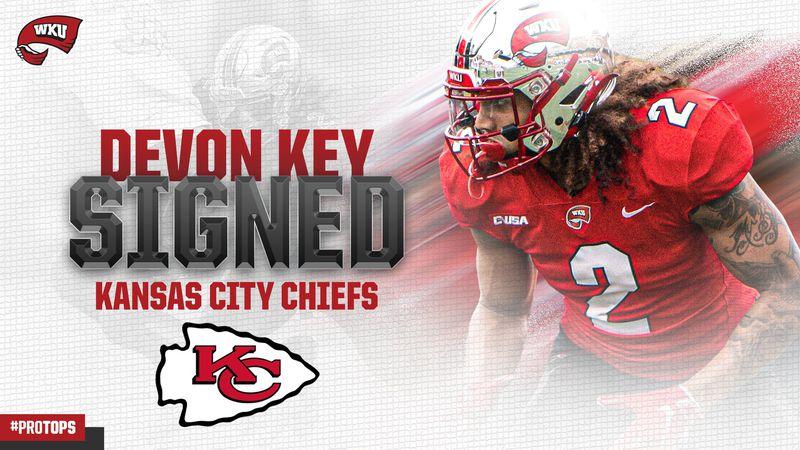 Devon Key signs with Kansas City
