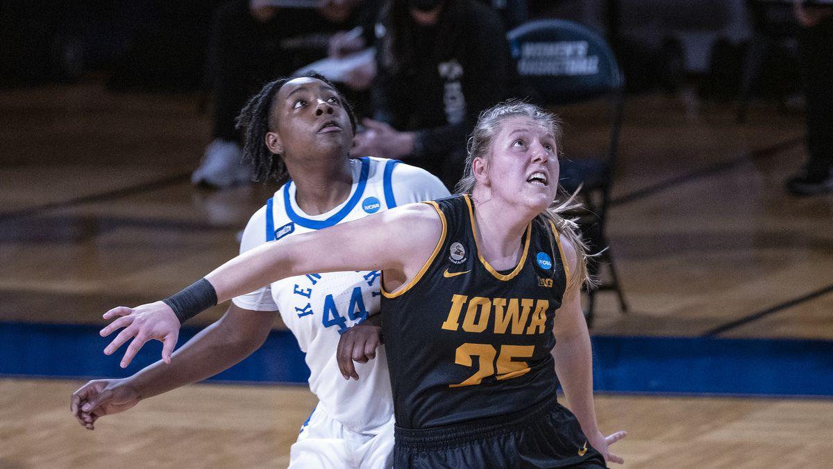 San Antonio, TX - MARCH 23: {KENTUCKY VS IOWA} during the Division I Women's Basketball...