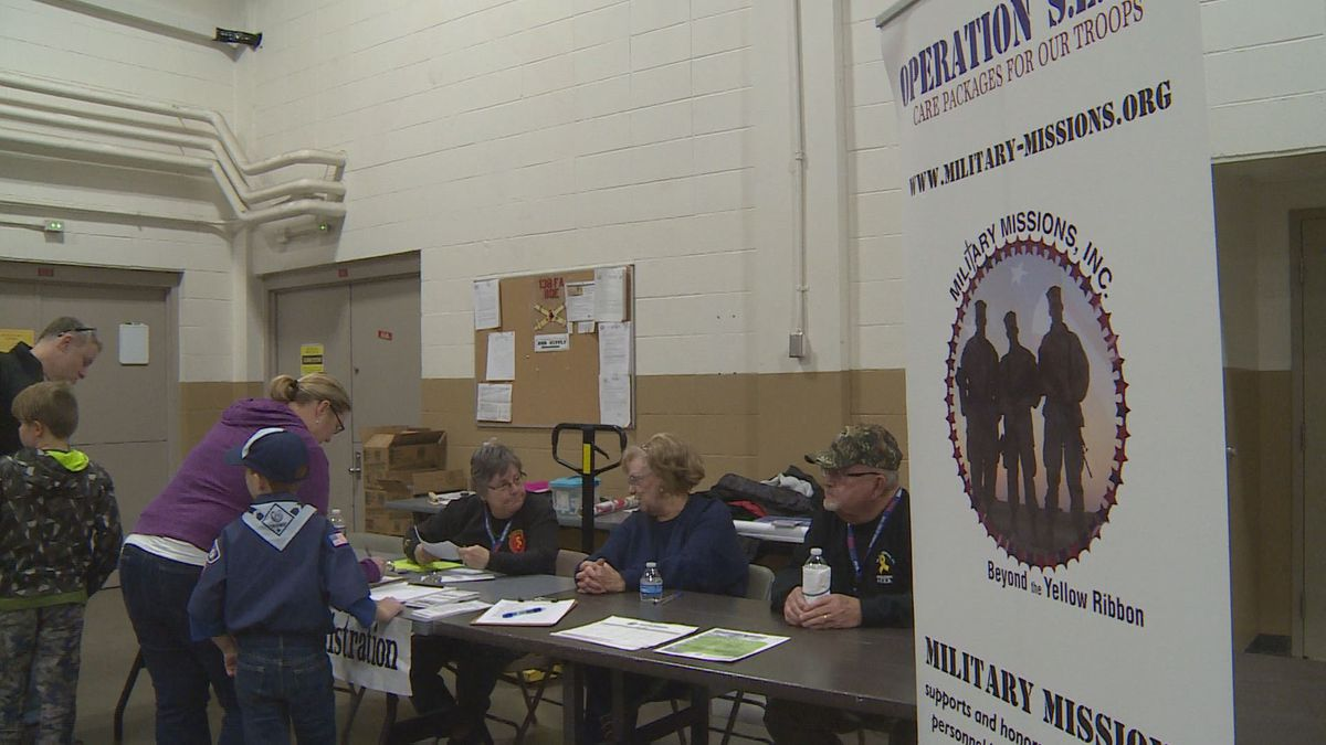 Military Missions has been hosting Operation Send around the holiday season for nearly a decade.