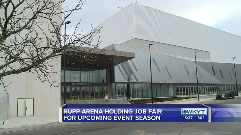 Rupp Arena holding job fair for upcoming event season