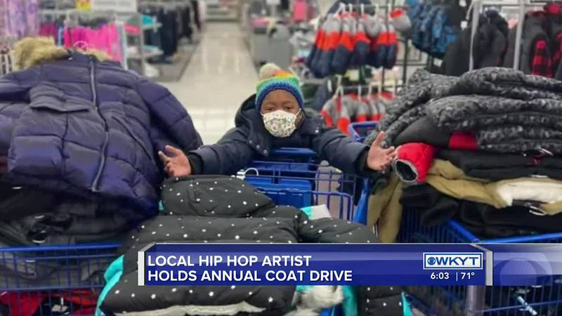 Lexington hip hop artist and community activist Devine Carama has launched his annual coat drive.