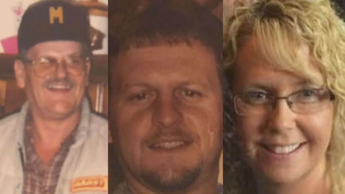 (L-R) Albert Vanderpool, 80, Phillip Vanderpool, 52, and Sueann Vanderpool, 48, were laid to rest after a deadly explosion in Wolfe County. (WKYT)