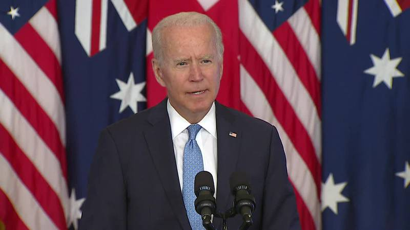 France recalls its ambassadors to the United States and Australia in submarine deal backlash,...