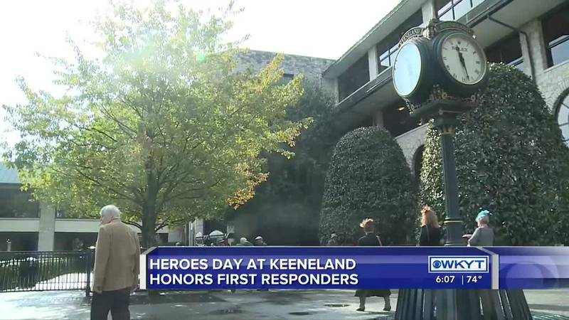Sunday's Heroes Day at Keeneland, bringing an opportunity for spectators to say thank you to...