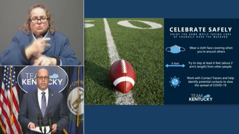 Health experts urge people to watch the Super Bowl with those in their household, rather than...