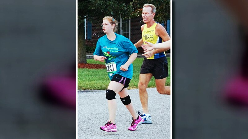 Kate Nason was left hemiplegic with paralysis stretching down the entire right side of her body...