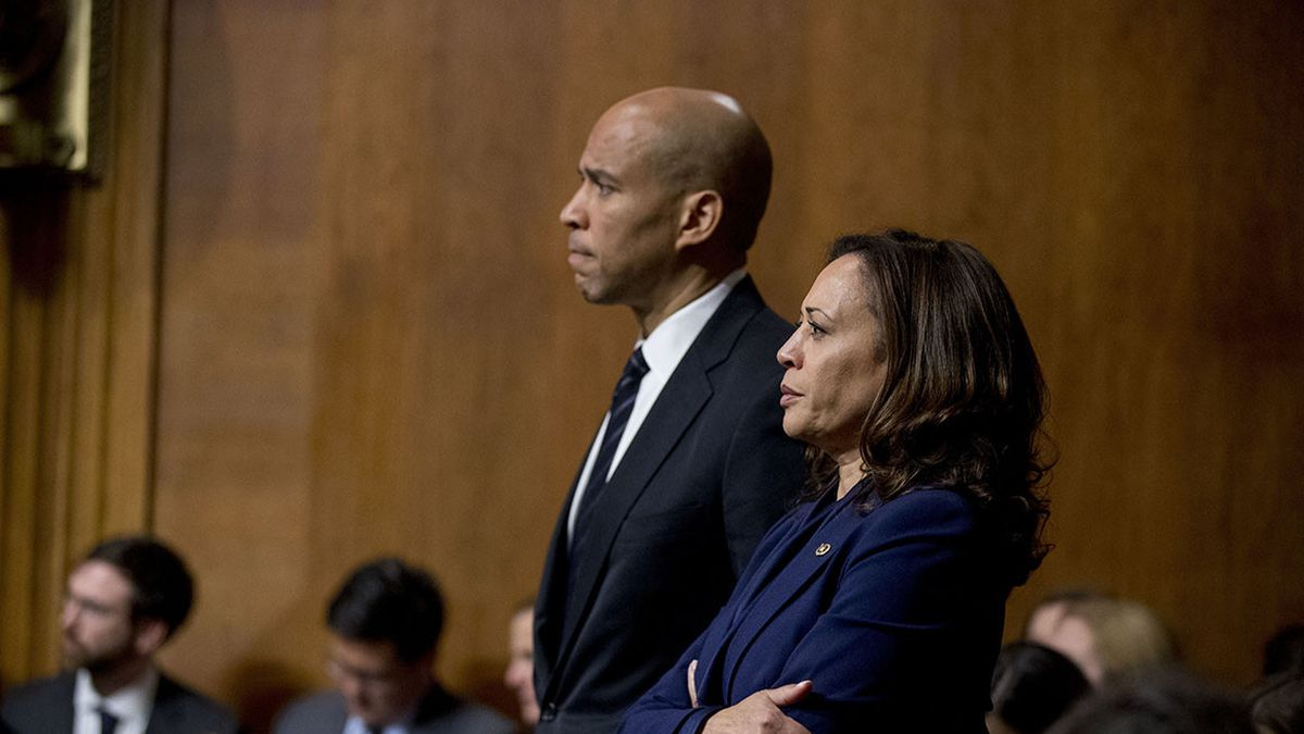 Kamala Harris, Cory Booker among senators to endorse bill of rights.