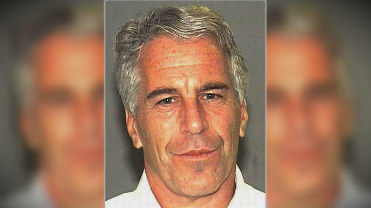 This July 27, 2006 arrest file photo made available by the Palm Beach Sheriff's Office, in Florida, shows Jeffrey Epstein. (AP Photo/Palm Beach Sheriff's Office, File)