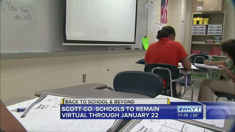 Scott County Schools will remain virtual for all students through Friday, January 22, 2021,...