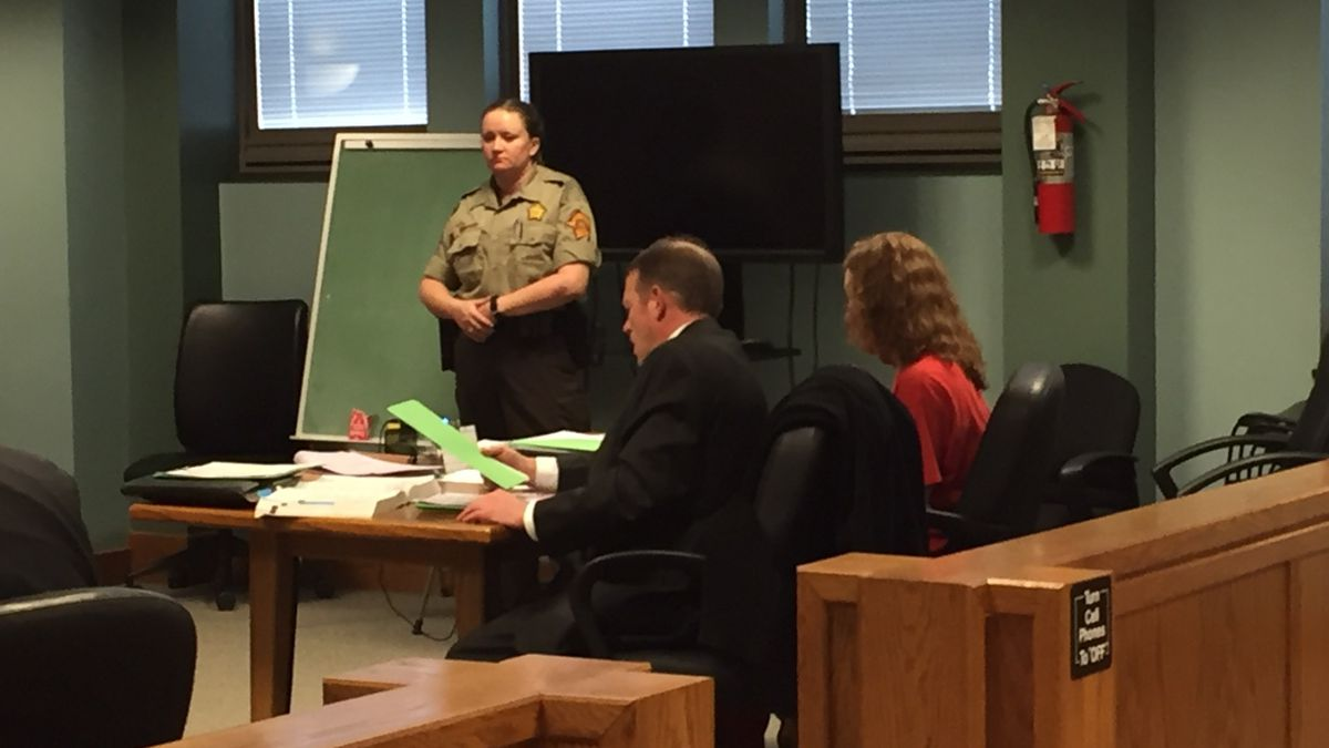 Melissa Wolke appeared in court to answer to a murder charge on Wednesday. (Photo: WKYT/Krista Frost)