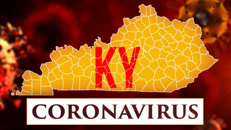 The number of COVID-19 cases more than doubled in 25 of Kentucky's 120 counties during November...