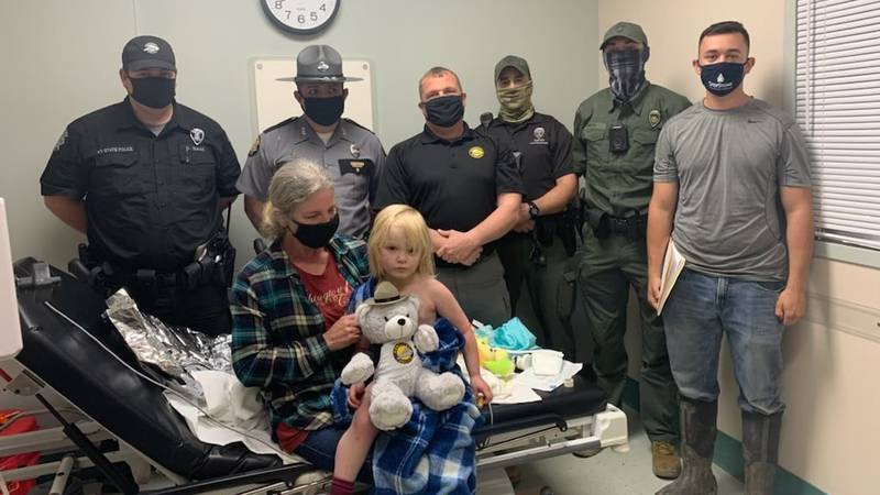 A Knott County family has been reunited with their three-year-old daughter after she...