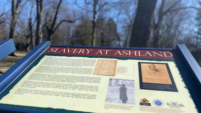 """A tour at the popular Kentucky landmark """"Ashland,"""" Henry Clay's historic home, features the..."""
