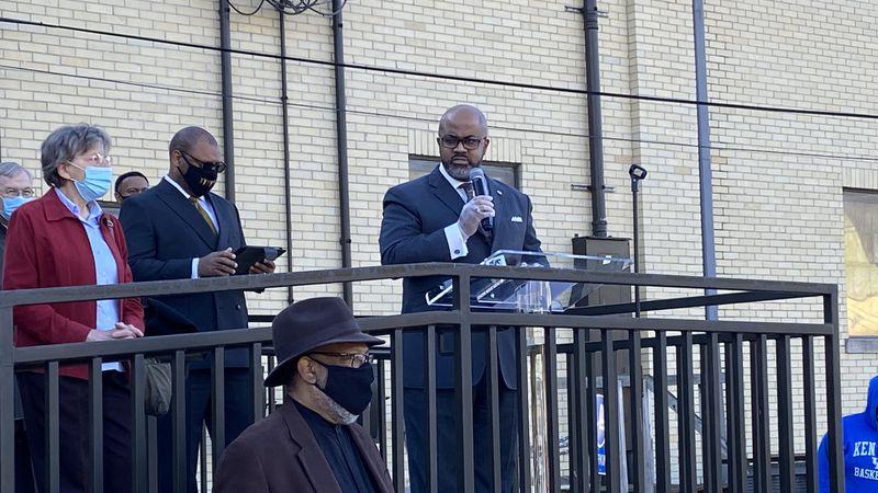 Black faith leaders meet in Lexington to discuss racial equality.