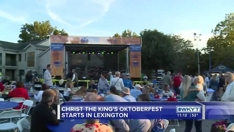 Christ the King's Oktoberfest starts in Lexington