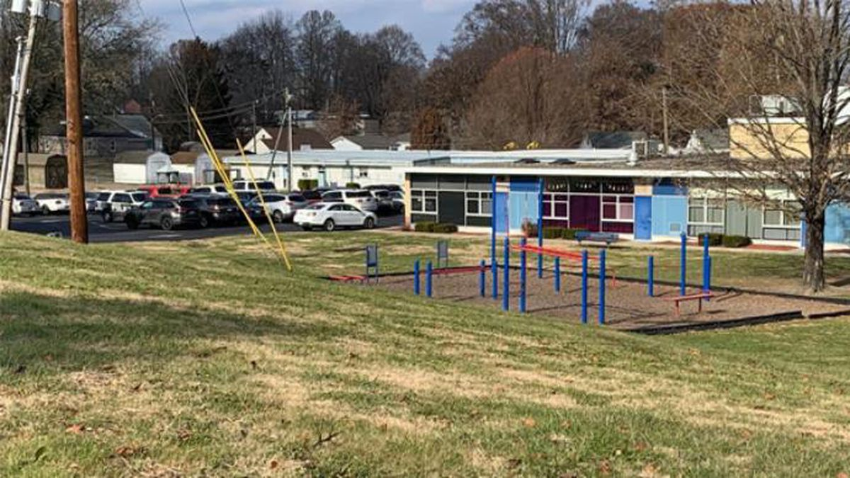 Ashland Police say no students came in direct contact with a gun that was found on the playground at Poage Elementary Tuesday. (Source: WSAZ)