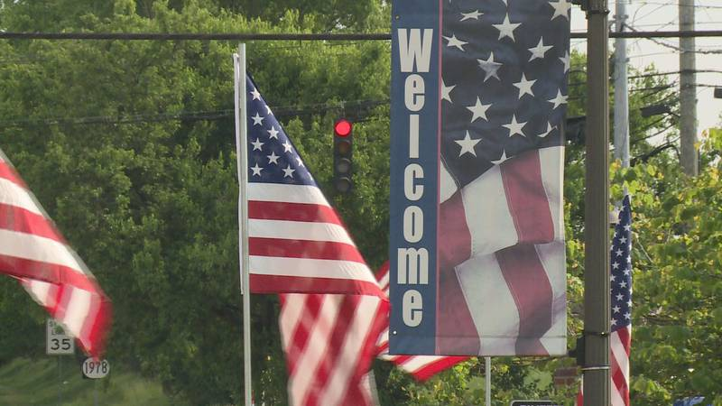 Earlier this year, the Lafayette High School band held a fundraiser to buy American flags. The...