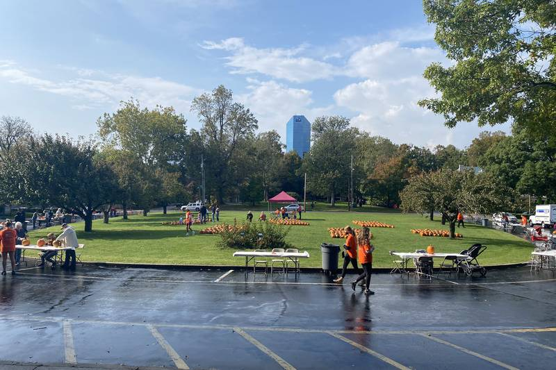 The family-friendly carving event was different from last year's past because of the pandemic,...