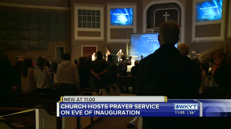 Richmond church holds community-wide inauguration eve prayer service