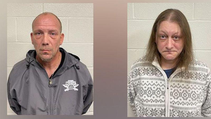 Troy Caseltine, 44, and Susan Caseltine, 40.
