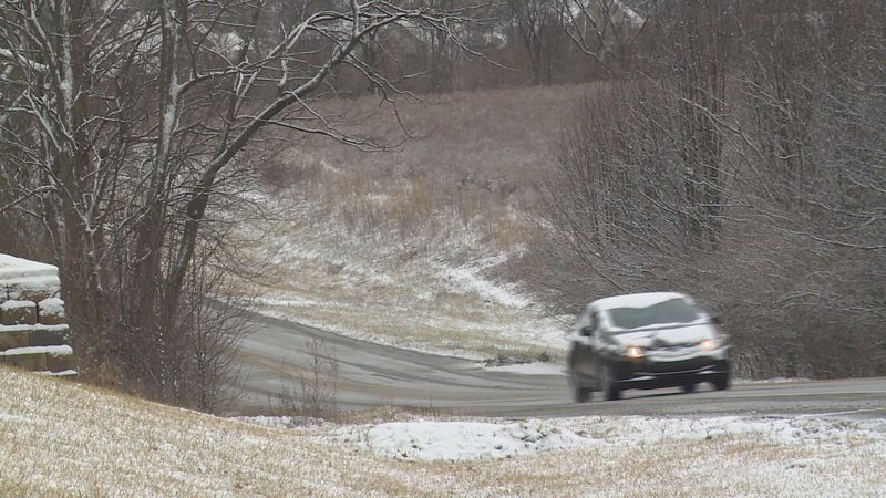 """""""The majority of our wrecks are caused by speed too great for road conditions,"""" Allen says."""