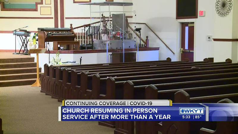 Lexington church hopes to have first in-person service in more than a year