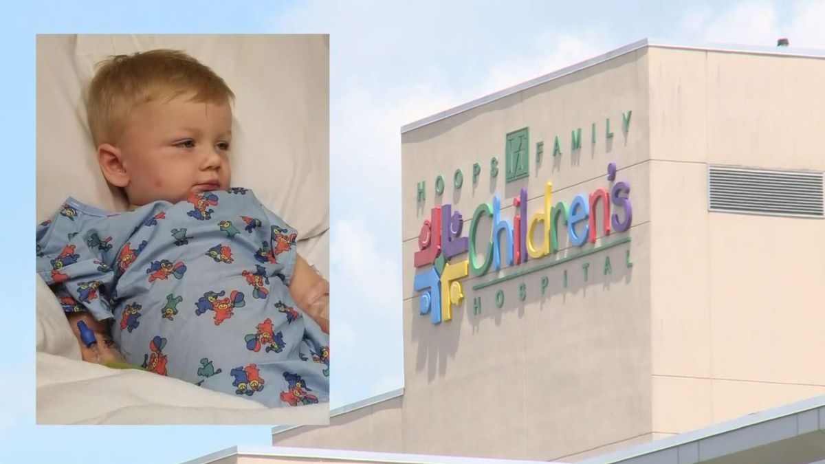 Kenneth Howard is now recovering at the Cabell Huntington Hospital in West Virginia. (Photo: WKYT/Nick Oliver)