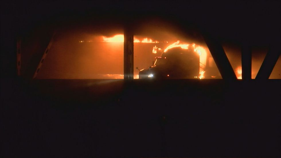 Long-term impact of truck fire on Brent Spence