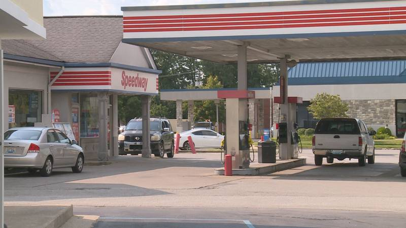 The grey, compact SUV was stolen at the Speedway on Southland Drive.