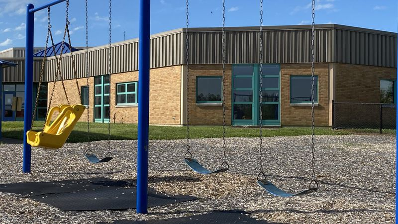 School playgrounds in Jessamine Co. will remain empty until at least August 12th, 2020.
