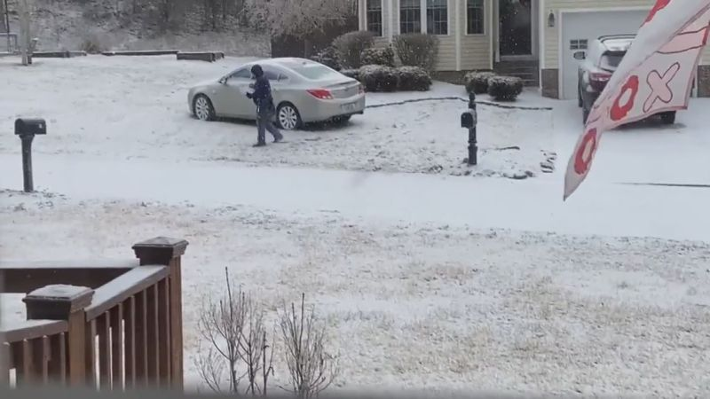 During the worst winter storm Kentucky's seen in years, Mark Lester may have thought he was...